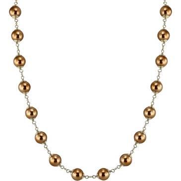 Ожерелье Misaki из серебра QCRNGLORYSHORT