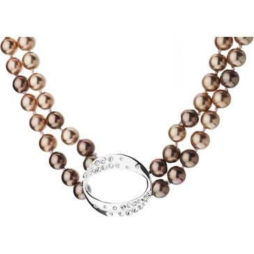Ожерелье Misaki с жемчугом из серебра qcrncocktail