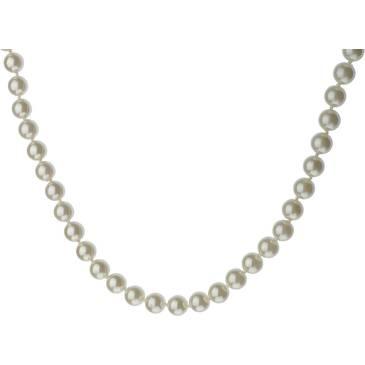 Ожерелье Misaki с жемчугом из серебра qcrnsi427