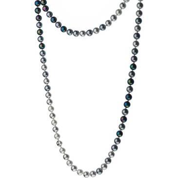 Ожерелье Misaki с жемчугом из стали qcrnlauren