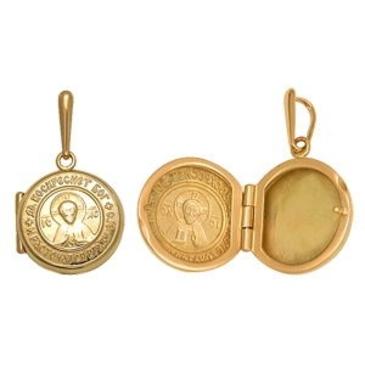 медальон из красного золота 1400736099