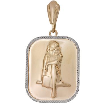 подвеска дева из красного золота 1401136244