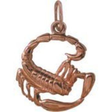 подвеска Скорпион из красного золота 14030514/11