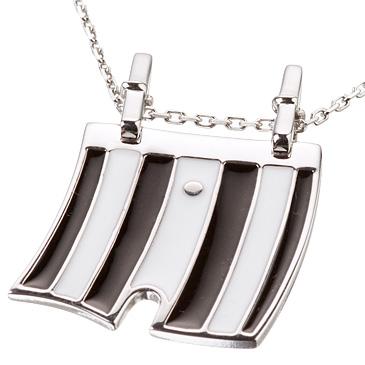 Подвеска 'Трусы мужские' из серебра PU05.925.1 от EVORA