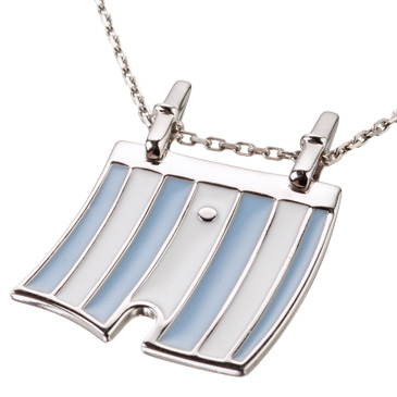 Подвеска 'Трусы мужские' из серебра PU05.925.3 от EVORA