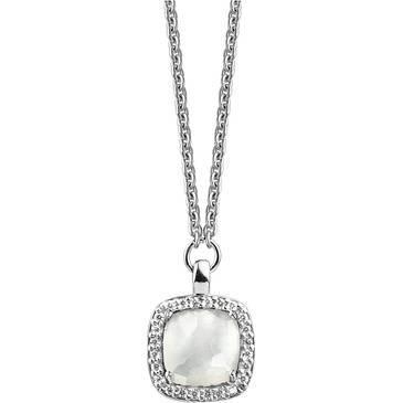 Ожерелье Ti Sento из серебра 3792MW 42
