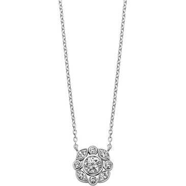 Ожерелье Ti Sento из серебра 3835ZI 42