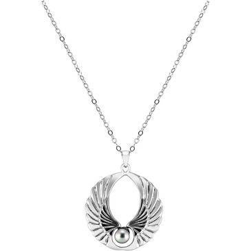 Ожерелье Misaki из серебра QCUPWINGSSHORT