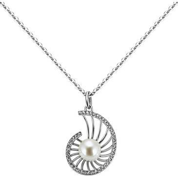 Ожерелье Misaki из серебра QCUPNAUTILUSWH