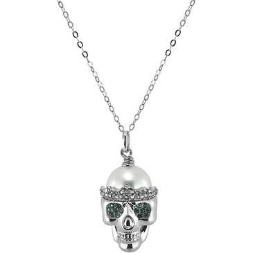 Ожерелье Misaki с жемчугом из серебра qcrpwanted