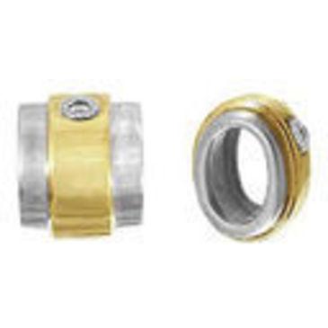 подвеска c бриллиантами из желтого золота 34032767