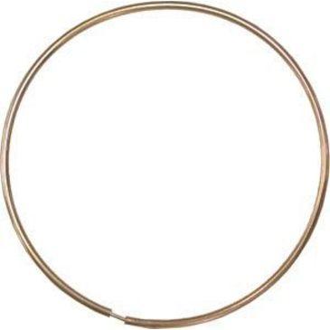 серьги диаметр 45 мм из красного золота 14010431/11