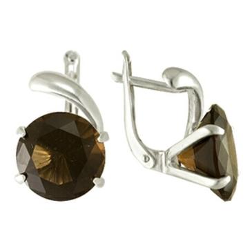 серьги c кварцем из серебра 3080010149 от EVORA