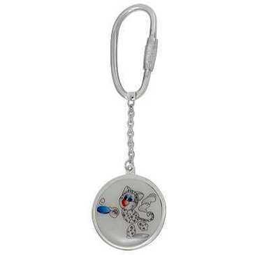 брелок из серебра 3596626017-22
