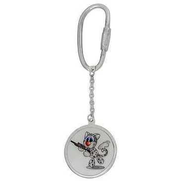 брелок из серебра 3596626017-2
