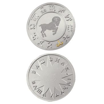 медаль Овен из серебра 3402229236