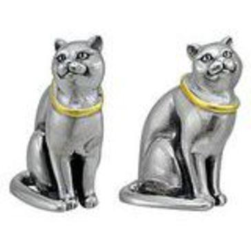 сувенирный кот из серебра 3405050530