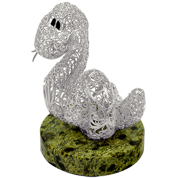 сувенир c змеевиком из серебра 3563052079