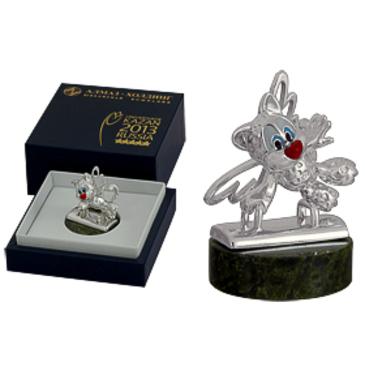 сувенир c змеевиком из серебра 3590050202