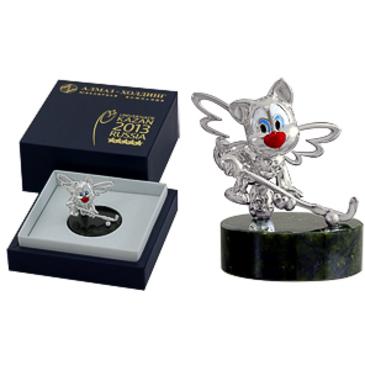 сувенир c змеевиком из серебра 3590050207