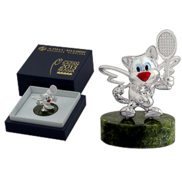 сувенир c змеевиком из серебра 3590050212