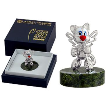 сувенир c змеевиком из серебра 3640050381