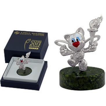 сувенир c змеевиком из серебра 3590050272