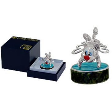 сувенир c змеевиком из серебра 3590050281